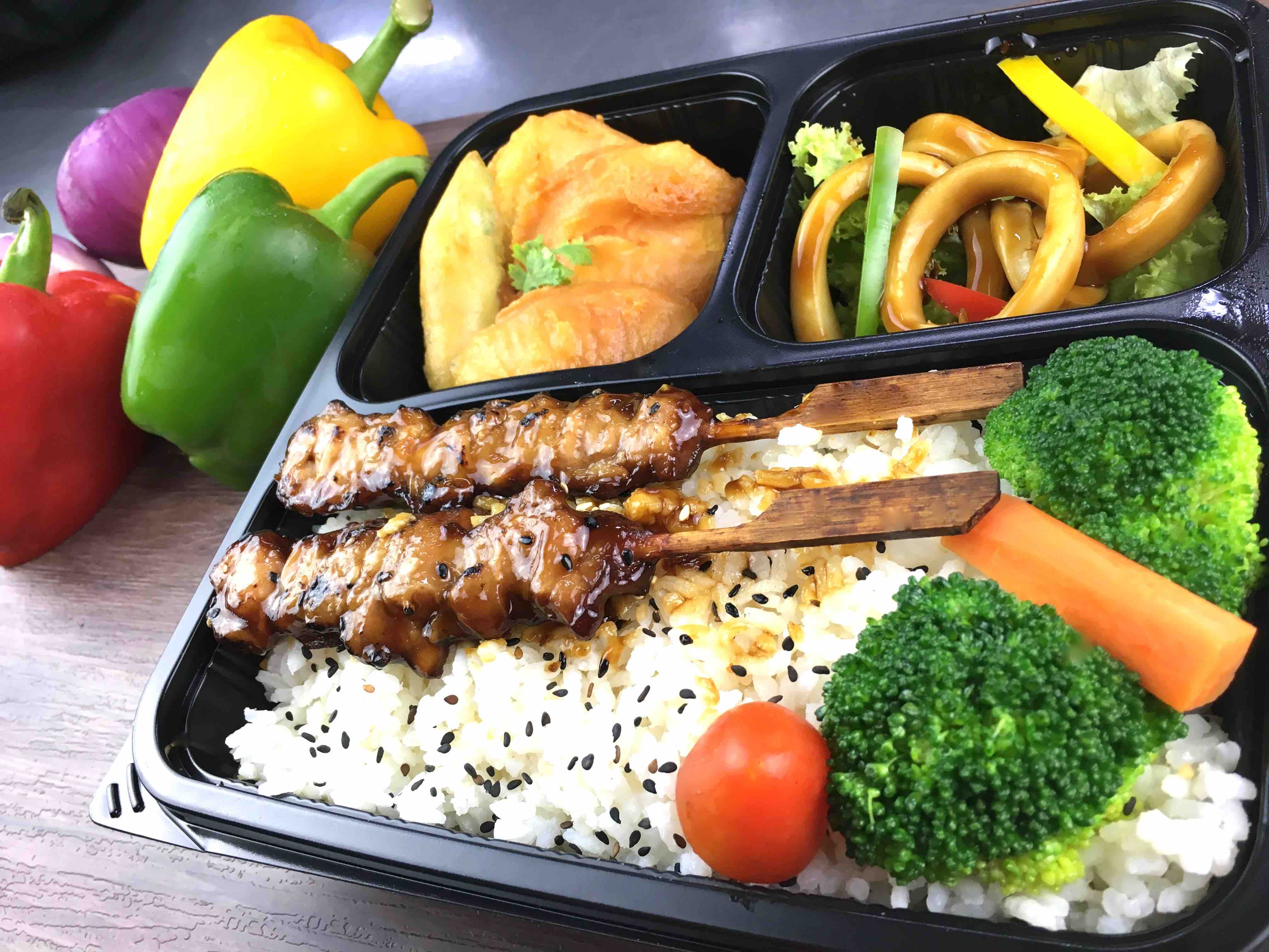 Team Catering Halal Bento Boxes