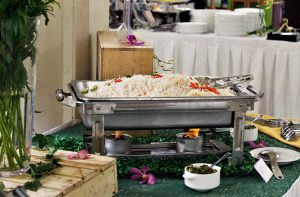 Halal Catering buffets from Oh's Farm Catering