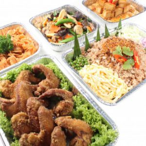 Chef's Catering Halal Mini Buffet