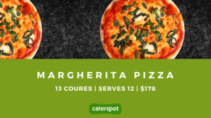 Order Spizza's Margherita Pizza on CaterSpot