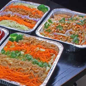 office lunch idea: thai mini buffet