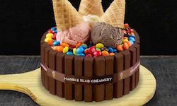 Marble Slab Creamery; Party like a King
