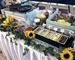 Saybon's unique party catering option