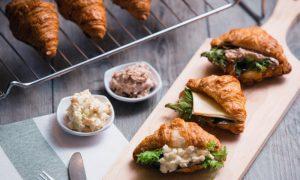 Swissbake Mini Croissant Sandwiches