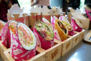 Healthy Catering: Sushi Burrito