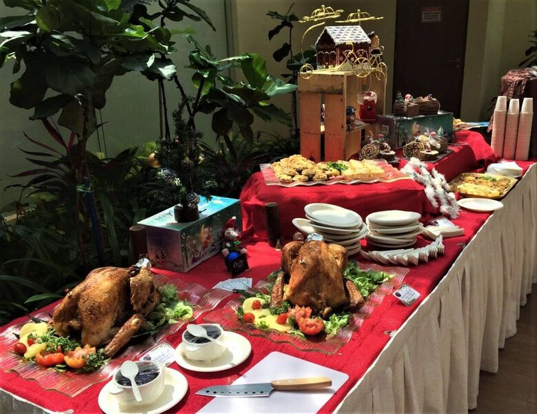 Caterspot- Oh's Farm Christmas Party Catering Package