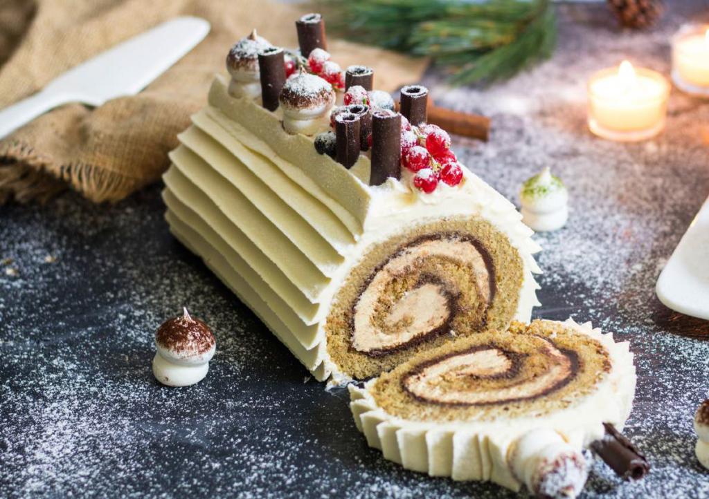 Rum Tiramisu Cake