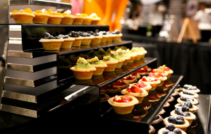 Gustos Catering Canapés- office Christmas party catering
