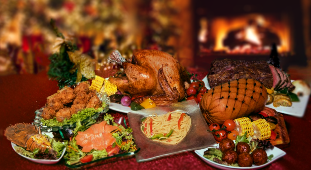 Office Christmas party catering- Sparks catering buffet