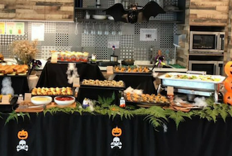 Halloween food catering ideas
